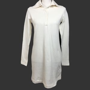 Zara Trafaluc Cream Long Sleeve Knit Tunic. Small